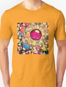 Kokeshi dolls Unisex T-Shirt