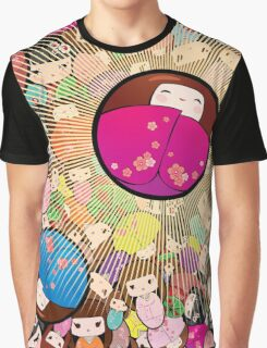 Kokeshi dolls Graphic T-Shirt