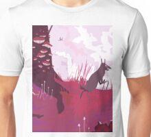 The Pink Velvet Forest Unisex T-Shirt