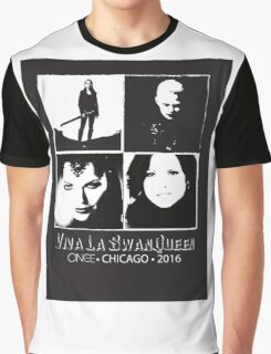 Once Upon A Time SwanQueen Convention Graphic T-Shirt