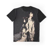 Steins;Gate Kurisu and Okabe Anime Graphic T-Shirt
