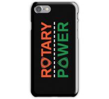 Rotary Power iPhone Case/Skin