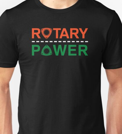 Rotary Power Unisex T-Shirt
