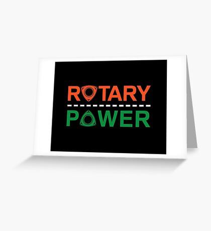 Rotary Power Greeting Card