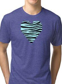 0118 Italian Sky Blue or Celeste Tiger Tri-blend T-Shirt