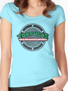 Tortugas Ninja Women's Fitted Scoop T-Shirt