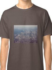 Chicago from the air color photo Classic T-Shirt