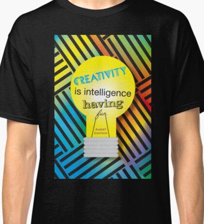 Intelligence Having Fun Classic T-Shirt