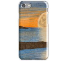 Sunset sailboat iPhone Case/Skin