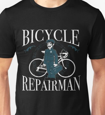 The Bicycle Repair Man Unisex T-Shirt