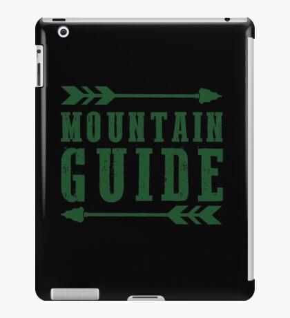 Mountain Guide iPad Case/Skin