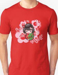 Japanese Kokeshi Doll Unisex T-Shirt