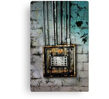 Electrical Canvas Print