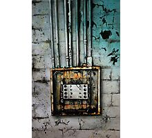 Electrical Photographic Print