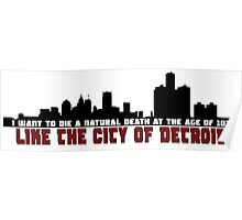 The City of Detroit Poster