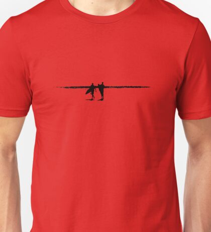 Surfers at The Pass Unisex T-Shirt