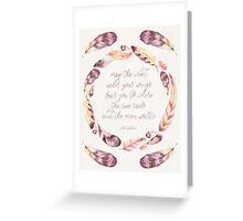 The Wind Under Your Wings Greeting Card