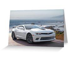 201X Chevrolet Camaro 'Modern Muscle' 4a Greeting Card