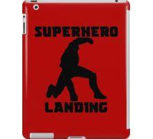 Superhero Landing iPad Case/Skin