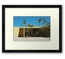 Mid Century Modern (Palm Springs) Framed Print