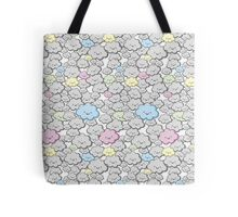 Kawaii Little Colourful Clouds Tote Bag