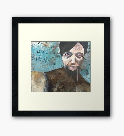 Conspiracies Are Real Framed Print