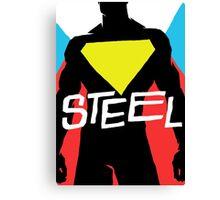 Steel Canvas Print