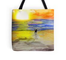 Off Into The Sunset Tote Bag