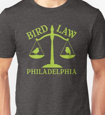 Bird Law Philadelphia (ALWAYS SUNNY) Unisex T-Shirt