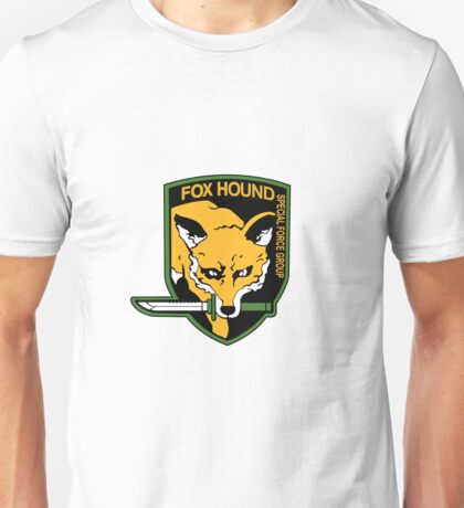 Foxhound  Shield Logo Unisex T-Shirt