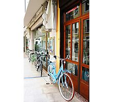 Bicycles of Italy Photographic Print