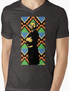 Geoffrey, Fresh Prince of Bel Air, Street Art, Stencil Art Mens V-Neck T-Shirt