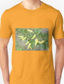 hot chili peppers on a tree T-Shirt