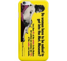 Do Women Have to be Naked? iPhone Case/Skin