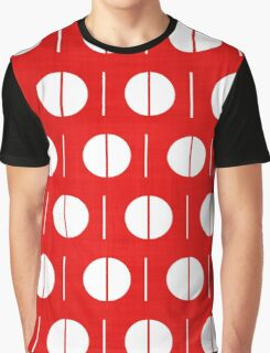 MCM Red Spurk Graphic T-Shirt