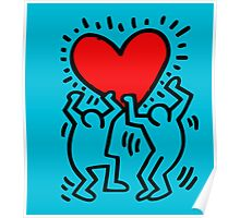 keith Hering Poster