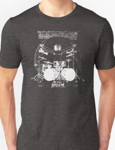 Vintage Da Vinci Drum Unisex T-Shirt