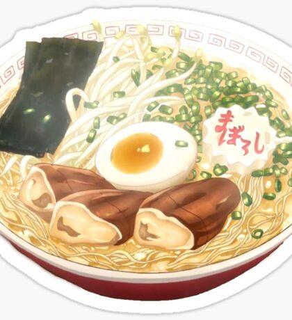 Anime Ramen Sticker