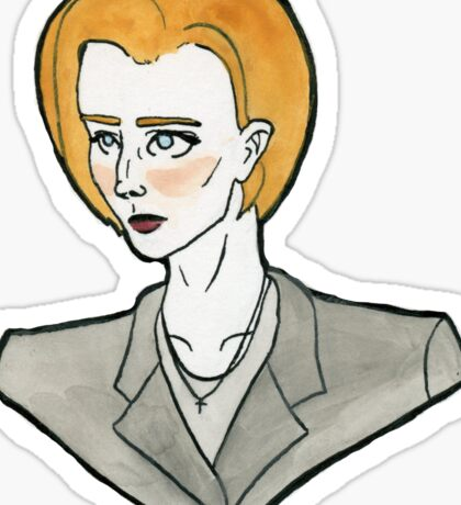 Dana Scully, FBI Sticker