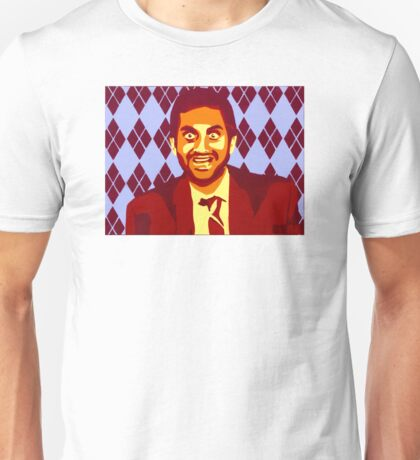 But Boo! Tom Haverford, Aziz Ansari, Parks and Rec., Street Art, Stencil Unisex T-Shirt