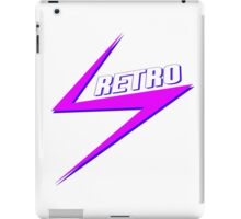 Retro Bolt - IAmKev YouTuber Merchandise iPad Case/Skin