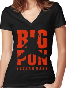 Big Pun Women's Fitted V-Neck T-Shirt