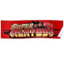 Super Meat Boy Poster