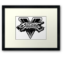street fighter v Framed Print