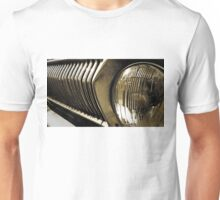 Old classic car headlight Unisex T-Shirt