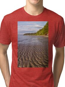 Tidal Pattern in the Sand Tri-blend T-Shirt