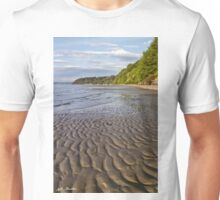 Tidal Pattern in the Sand Unisex T-Shirt