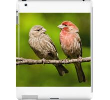 Pair of House Finches in a Tree iPad Case/Skin