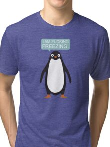 Talking Penguin Tri-blend T-Shirt
