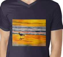 Sunset in San Diego Mens V-Neck T-Shirt